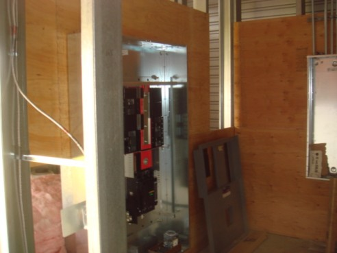 Electrical panel & Fire Sprinklers